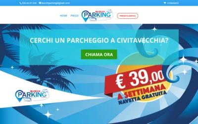 Sito per il Parcheggio a Civitavecchia Burchi Parking