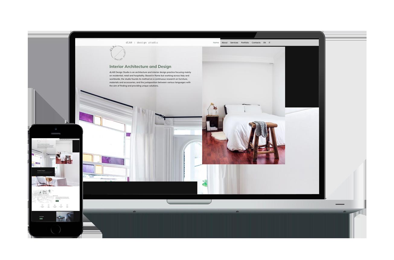 Sito Web Pro Interior Designer