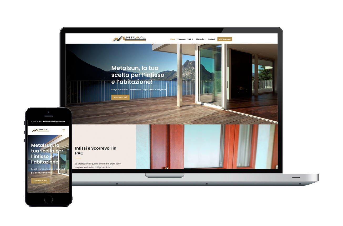 sito web aziendale con area riservata max ambrox design