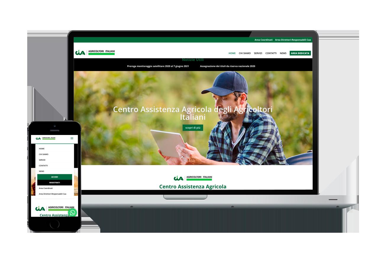 Realizzazione sito web con vari livelli di accesso